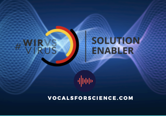 "Press Release: Vocals for Science supported by the ""Solution Enabler"" Program of the Federal Government of Germany"